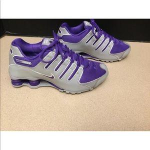 Womens Nike Shox NZ Patent Running Shoes